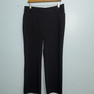 Van Heusen Black Stretch Slacks